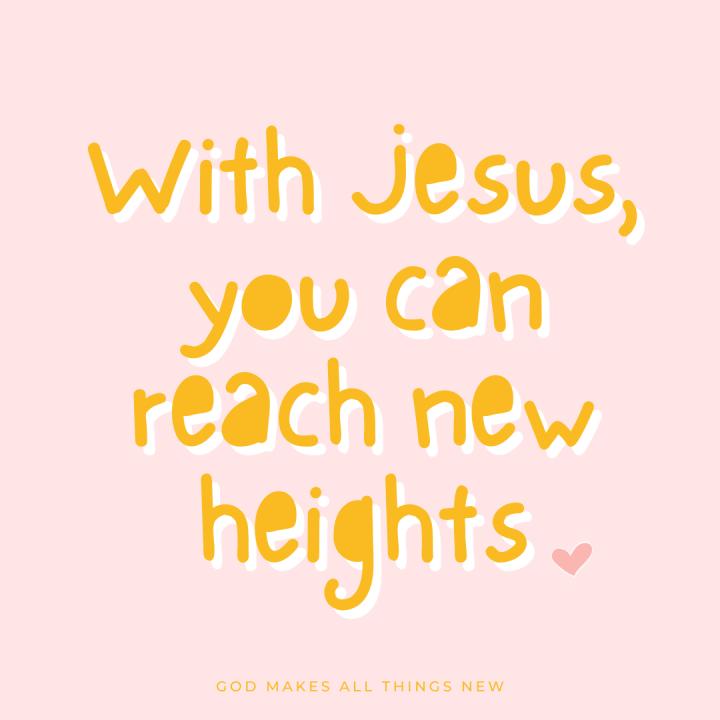 New Heights with Jesus 🦅 Nuevas Alturas con Jesús🦅