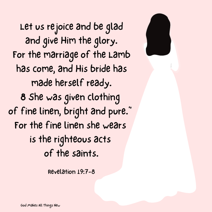 Revelation 19:7-9 Marriage supper of the Lamb