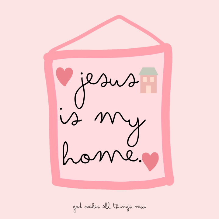 Home Sweet Jesus💕🏡😌🙏🏻